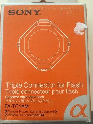 Sony FA-TC1AM Triple Conector for Flash Connector Alpha Sony