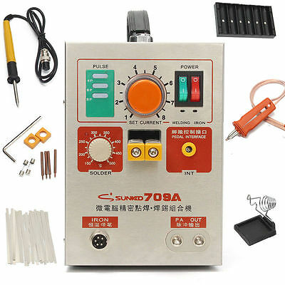 2 in 1 1.9kw Pulse Spot Welder 709A Battery Welding Soldering Machine 60A