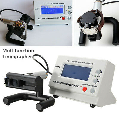 MTG-1000 LCD-Uhr Tester Zeitwaagen Timegrapher Watch Timing Zeitwaage Maschine