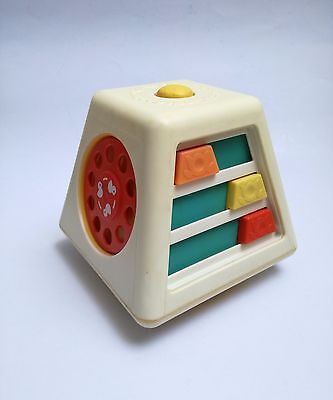 Fisher Price Turn Learn Activity Center #156 vintage toy jouet ancien 1978 70s