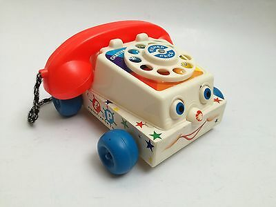 Fisher Price Chatter Telephone #747 vintage pull toy jouet ancien 1961 60s