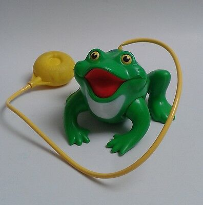 Fisher Price Frisky Frog grenouille Frosch #154 vintage toy jouet ancien '71 70s