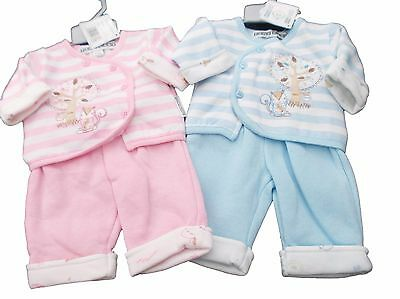 BNWT reborn Premature Preemie Baby Clothes 2 Piece squirrel jacket & trousers