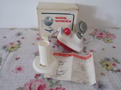 Vintage ROYAL JAPAN Portable Hand-Operated WOOL WINDER Machine