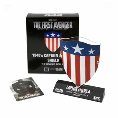 New Marvel Captain America The First Avenger 1940's Shield 1:6 Scale Official