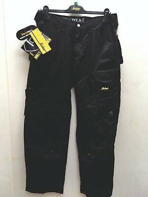 Snickers 3312 Duratwill Safety work trousers with out holster pockets