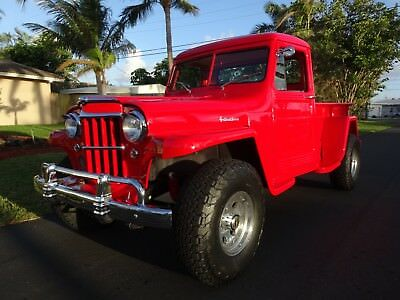 1959 Willys Custom  RARE  Willys Pick-Up Truck 4x4, A/C, MINT, Original 6-226 Super Hurricane