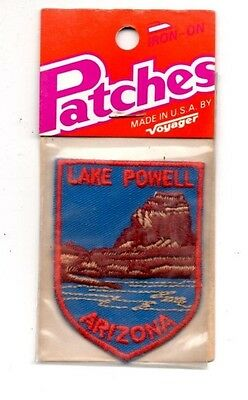Lake Powell Arizona Voyager Travel Souvenir Patch - Brand New - Free Shipping