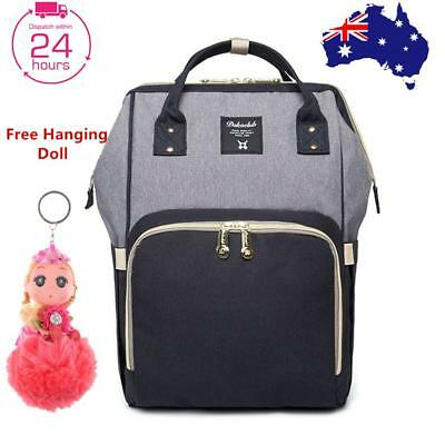 Large Waterproof Diaper Backpack Mummy Baby Nursing Changing Travel Nappy Bags