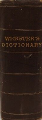 Webster's International Dictionary Of The English Language