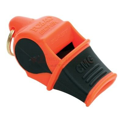 FISCHIETTO FOX 40 Sonik Blast CMG Multi ORANGE/BLACK ARBITRI BAGNINO 120 db