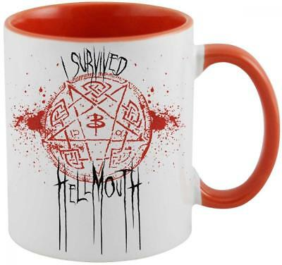Buffy the Vampire Slayer Mug I Survived Hellmouth Geek Store Calici Tazze