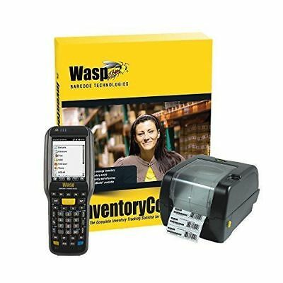 WASP  633808929305 INVENTORY CONTROL RF PRO WITH DT90 Computer & WPL305 Printer