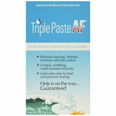 Triple Paste Af Antifungal Nitrate Medicated Ointment - 2 Ounce (Pack Of 3)