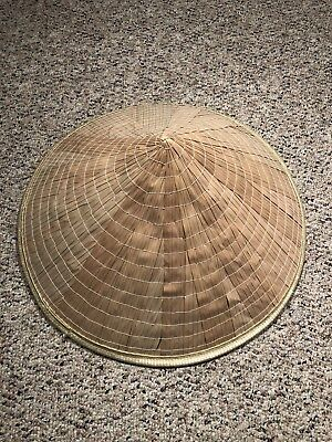 Asian Chinese Conical Rice Patty Coolie Hat