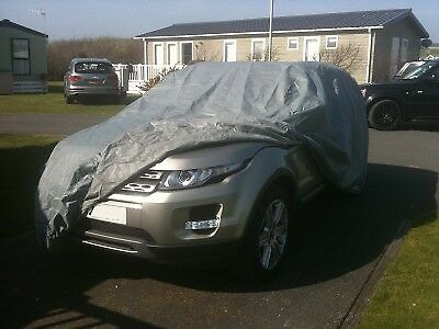 Range Rover Evoque 2011 - On  Heavy Duty Waterproof Car Cover Cotton Lined
