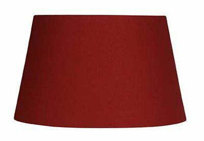 Oaks Lighting Paralume in cotone Rosso