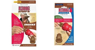 Kong Stuff N snacks dog puppy treats for kong toys  - 2 SIZES