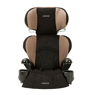 Cosco Rightway Booster Car Seat for Children, Adjustable Headrest, Integrated
