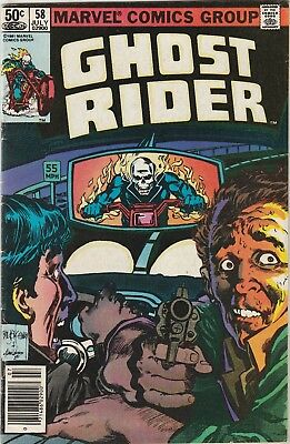 Ghost Rider (1973) #58 VG/FN 5.0 Marvel Comics Johnny Blaze, Bronze Age