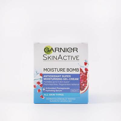 Garnier Moisture Bomb Hydrating Night Cream Moisturiser 50ml