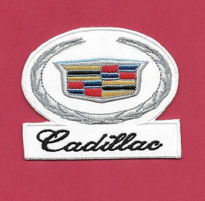 New Cadillac 'Hood Ornament' 2 1/2 X 3 Inch Iron on Patch Free Shipping