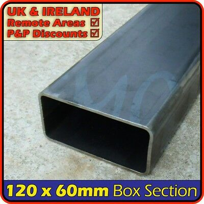 Mild Steel Rectangular Tube ║ 120 x 60 mm ║ box section iron,profile,tubing,pipe