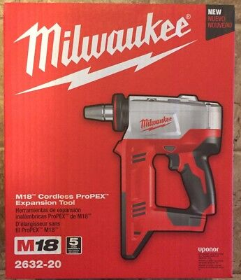 NEW! Milwaukee M18 Cordless ProPEX Expansion Tool 2632-20 (TOOL ONLY)