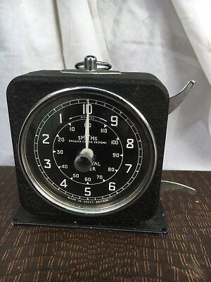 Art Deco Antique Smiths Interval Timer With Alarm Clock - Great Industrial Look