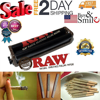 King Size Joint Roller Machine Eco Fast Cigarette Rolling Cigar Weed Raw 110mm