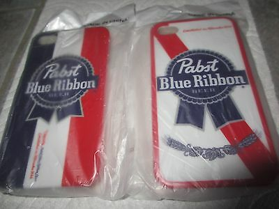 2 Unused PABST BLUE RIBBON PBR Beer IPHONE 4G/4GS Case  FREE SHIPPING! c