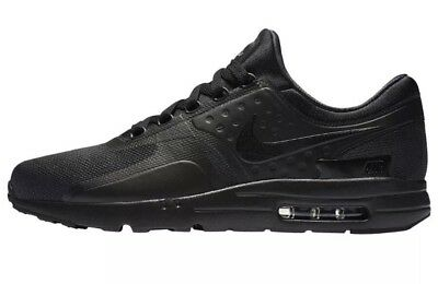 best service fbb4e 82ddd Nike Air Max Zero Essential (Gs) Bigs Kids Shoes Black 881224 006 Size 6Y