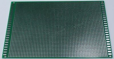 Double Sided PCB Universal Proto Perf Board Through Plated 12x18 cm USA  Ship