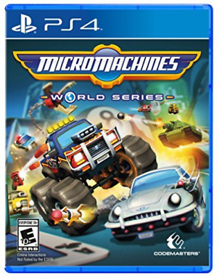 Micro Machines World Serie Ps4  Game Neuf