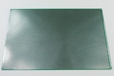 Double Sided PCB Universal Proto Perf Board Through Plated 20x30cm USA Comb Ship