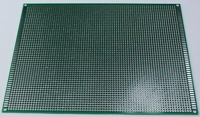 Double Sided PCB Universal Proto Perf Board Through Plated 15 x 20 cm USA Ship