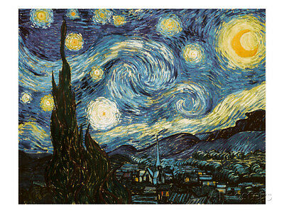 Starry Night, c.1889 Collections Giclee Poster Print by Vincent van Gogh, 48x...