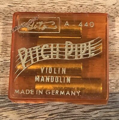Antique OLD Vintage German Pitch Pipe Tuning Tuner instrument Violin Mandolin