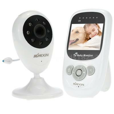 2.4in 2.4GHz Wireless CCTV Camera Baby Monitor 2-way Talk IR CCTV Security Q0H1