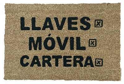 Felpudo Llaves Movil Cartera. Entrega 24/48 Horas.