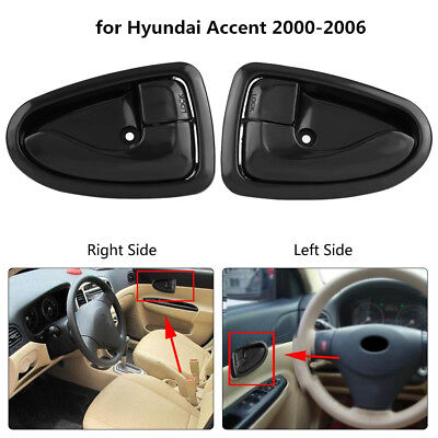 Car Inside Left/Right Interior Inner Door Handle for Hyundai Accent 2000-2006