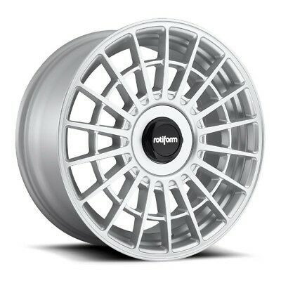 20x8.5 Rotiform LAS-R R143 5x4.5/120 +35 Silver Rims (Set of 4)