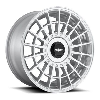 19x10 Rotiform LAS-R R143 5x4.5/120 +40 Silver Rims New Set