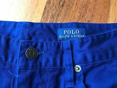 "Winter Ralph Lauren Slim Chinos/pants ""polo"" Youth/boys Size 16 -"