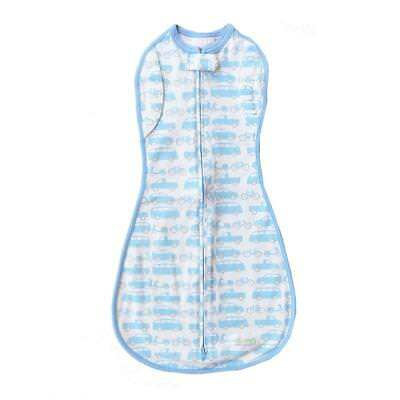 Woombie Convertible Baby Cocoon Swaddle (Beepbeep Cars)
