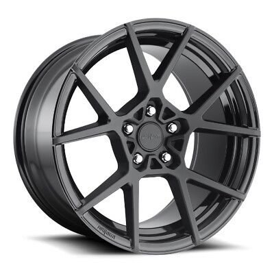 20x9.5 Rotiform KPS R139 5x4.5 +35 Matte Black Rims (Set of 4)