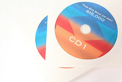 The Big Box of Art 615,000 Digital Image Photo Library Collection 25-CD Set