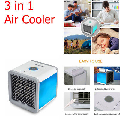 3 in1 Arctic Air Conditioner Portable Fan home Air Cooler/Humidifier/Cleaner NEW