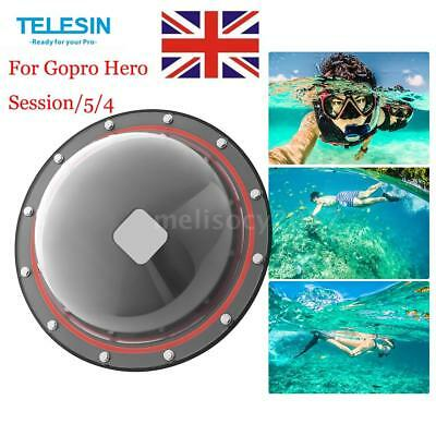 TELESIN GP-DMP-SESSION Lens Dome Port for GoPro Hero Session/5/4 Underwater B3D3