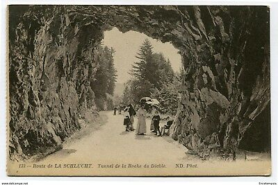 CPA - Carte postale -France -Route de la Schlucht - Tunnel de la Roche du Diable